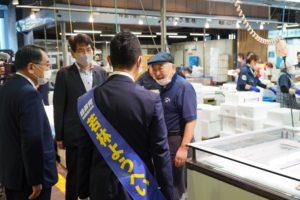 静岡参議院補欠選挙3日目